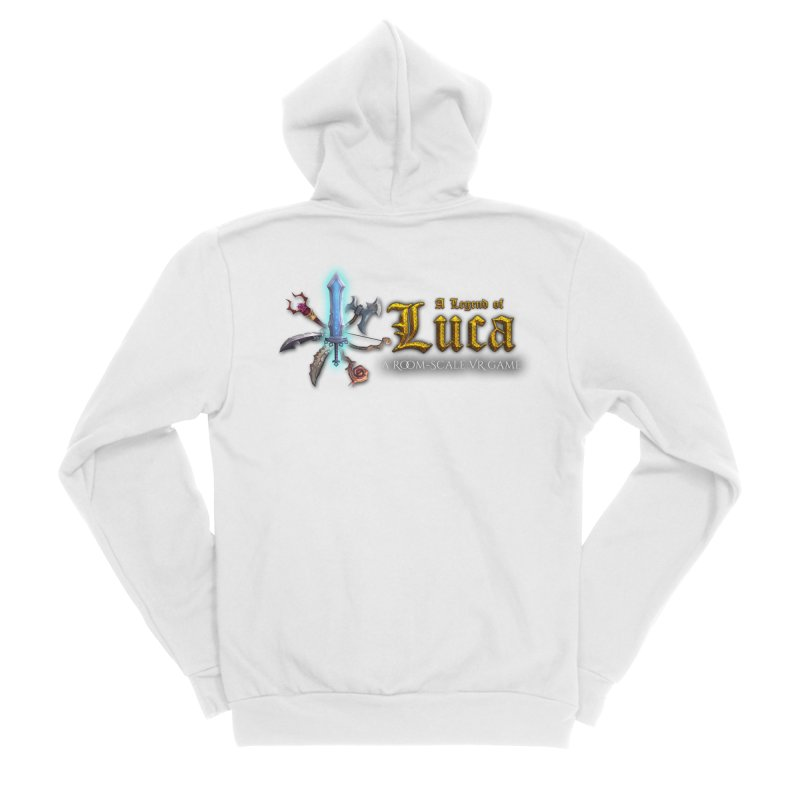 A Legend of Luca Merch Women's Sponge Fleece Zip-Up Hoody by Legend Studio Shop