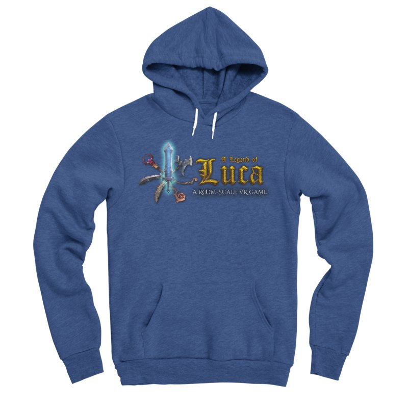 A Legend of Luca Merch Men's Sponge Fleece Pullover Hoody by Legend Studio Shop