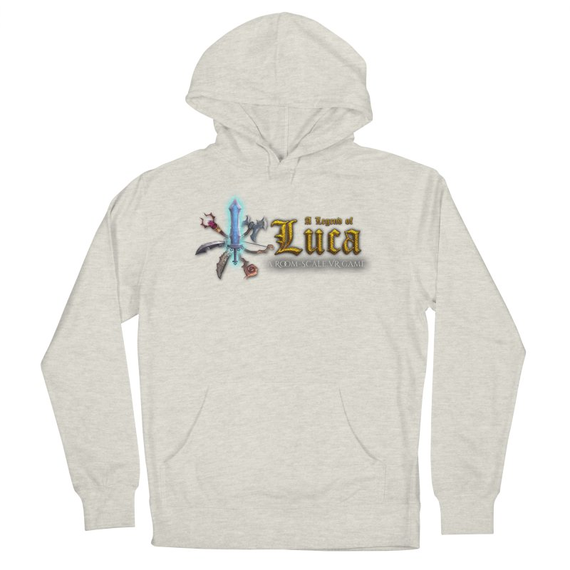 A Legend of Luca Merch Women's French Terry Pullover Hoody by Legend Studio Shop