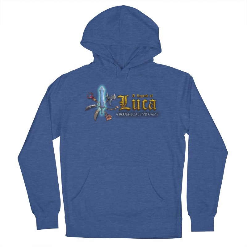 A Legend of Luca Merch Men's French Terry Pullover Hoody by Legend Studio Shop