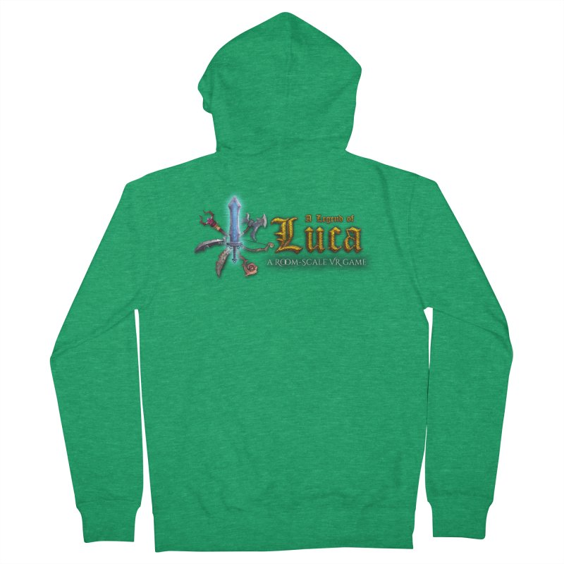 A Legend of Luca Merch Women's Zip-Up Hoody by Legend Studio Shop