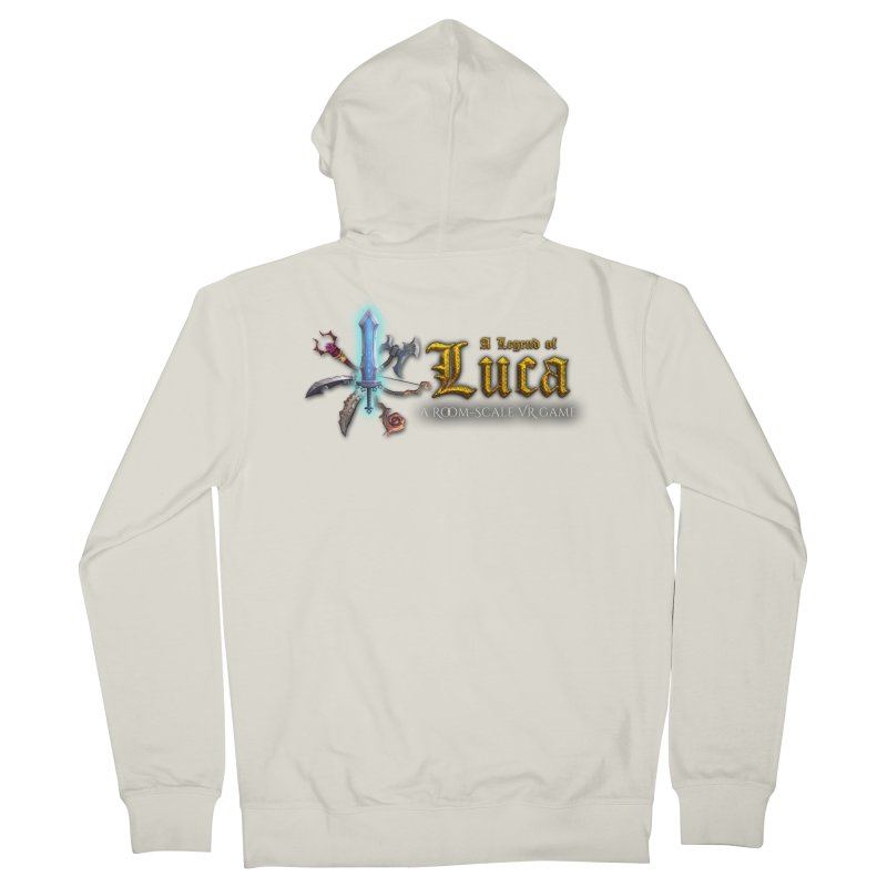 A Legend of Luca Merch Women's French Terry Zip-Up Hoody by Legend Studio Shop