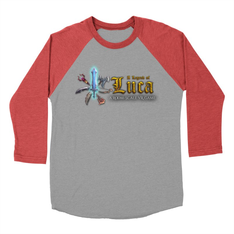 A Legend of Luca Merch Men's Baseball Triblend Longsleeve T-Shirt by Legend Studio Shop