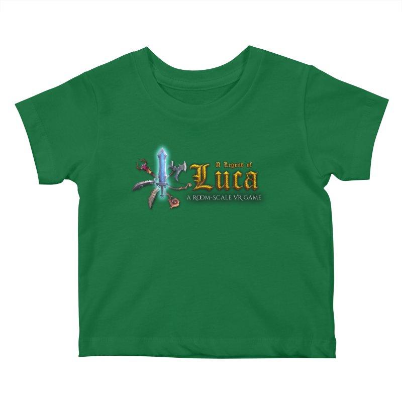 A Legend of Luca Merch Kids Baby T-Shirt by Legend Studio Shop
