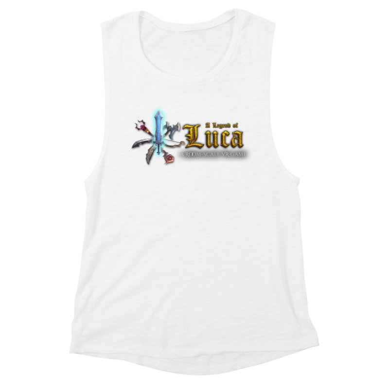 A Legend of Luca Merch Women's Muscle Tank by Legend Studio Shop