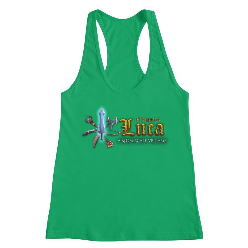 A Legend of Luca Merch Women's Racerback Tank by Legend Studio Shop