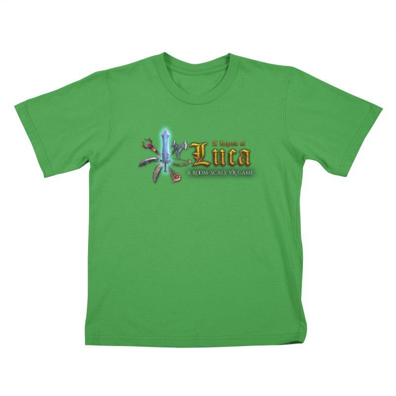 A Legend of Luca Merch Kids T-Shirt by Legend Studio Shop