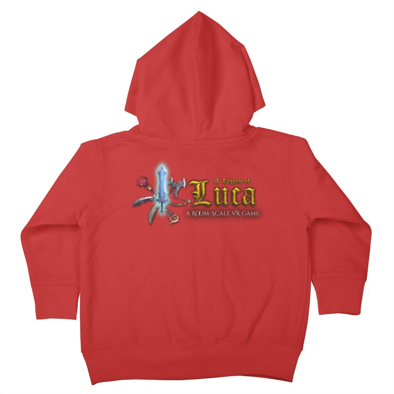A Legend of Luca Merch Kids Toddler Zip-Up Hoody by Legend Studio Shop