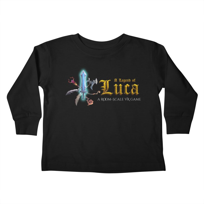 A Legend of Luca Merch Kids Toddler Longsleeve T-Shirt by Legend Studio Shop