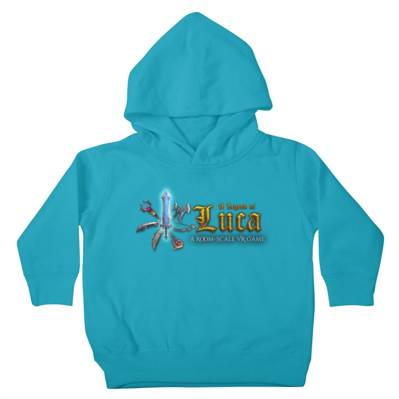 A Legend of Luca Merch Kids Toddler Pullover Hoody by Legend Studio Shop