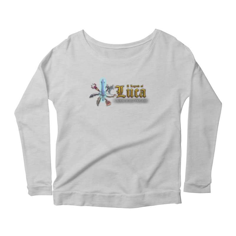 A Legend of Luca Merch Women's Scoop Neck Longsleeve T-Shirt by Legend Studio Shop
