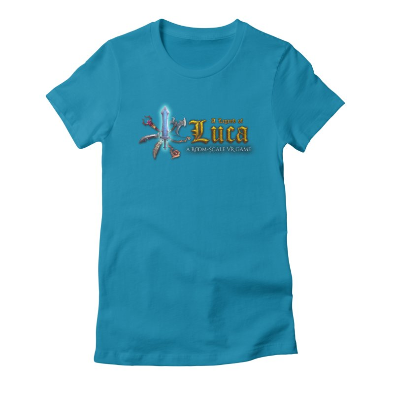 A Legend of Luca Merch Women's Fitted T-Shirt by Legend Studio Shop