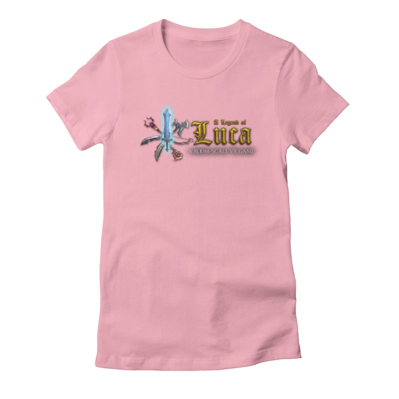 A Legend of Luca Merch Women's Fitted T-Shirt by Legend Studio Shop