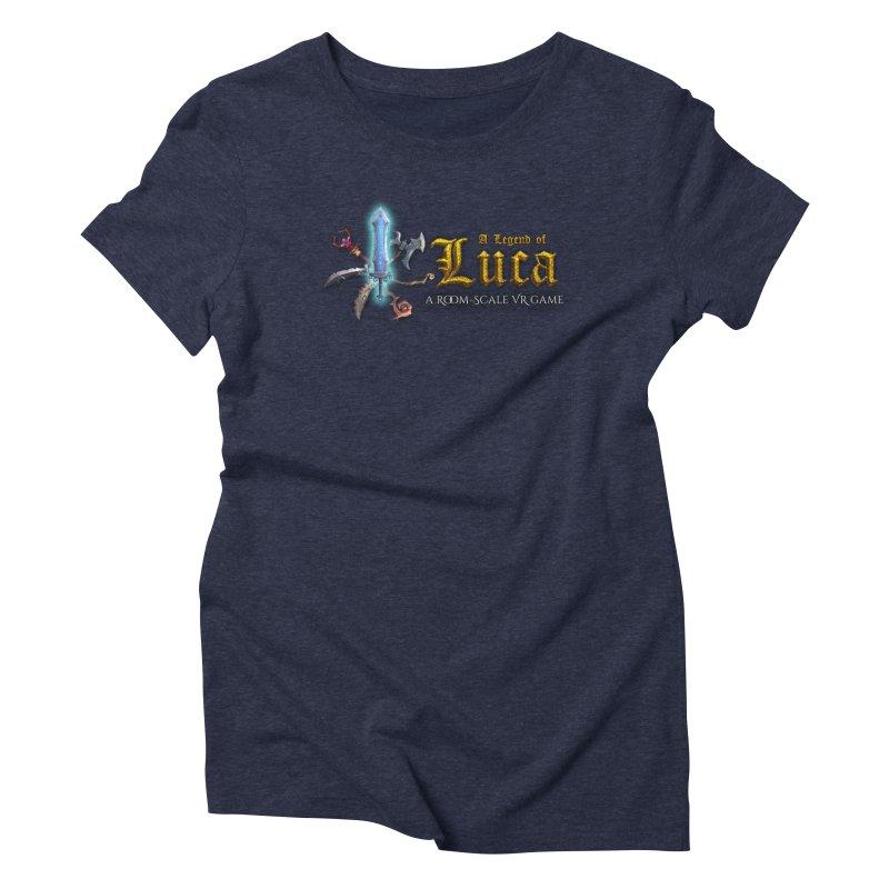 A Legend of Luca Merch Women's Triblend T-Shirt by Legend Studio Shop