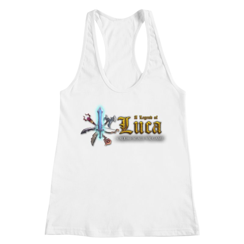 A Legend of Luca Merch Women's Racerback Tank by Legend Studio Shop