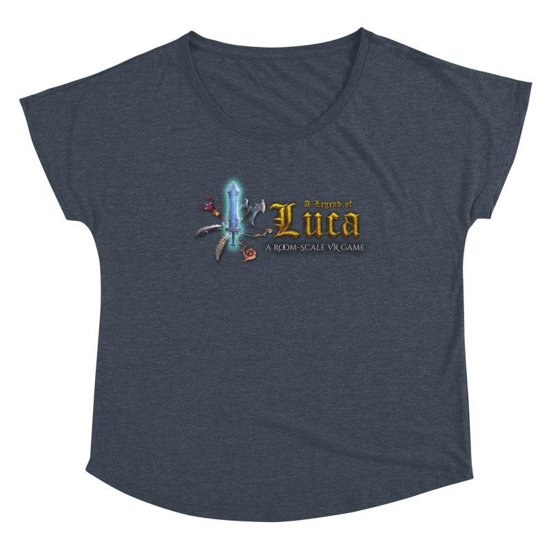 A Legend of Luca Merch Women's Scoop Neck by Legend Studio Shop