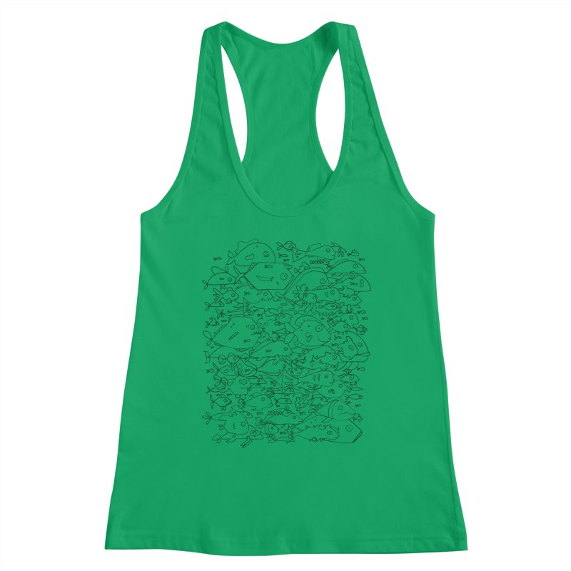 Funky Fish School Women's Tank by Legend Studio Shop
