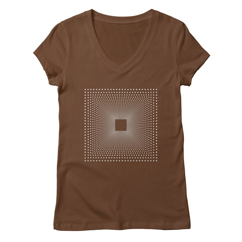 Future Teleportation Women's V-Neck by LEMATWORKS Shop