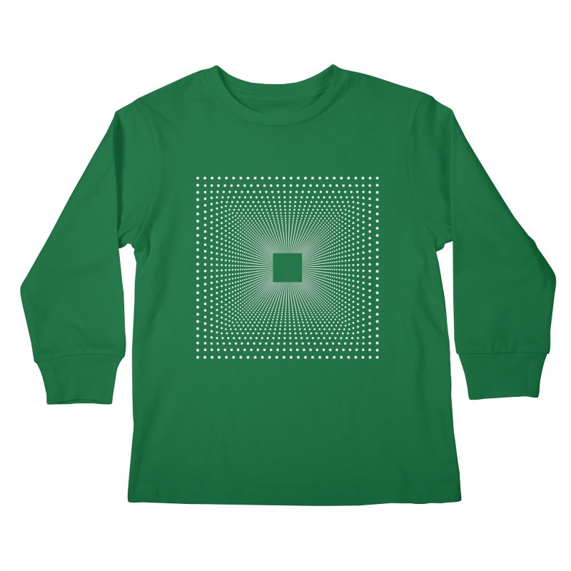 Future Teleportation Kids Longsleeve T-Shirt by LEMATWORKS Shop