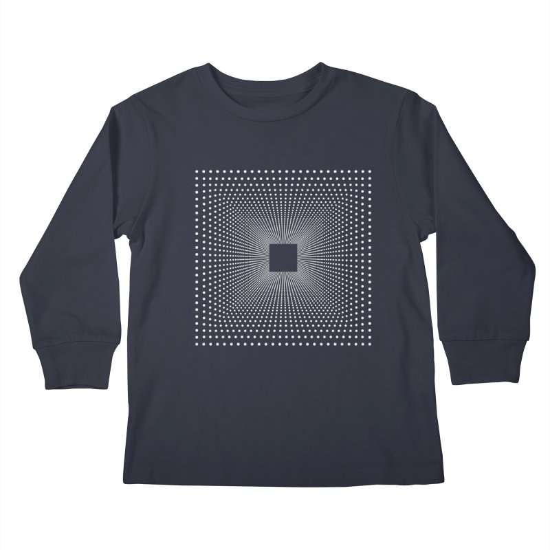 Future Teleportation Kids Longsleeve T-Shirt by LEMATWORKS Shop