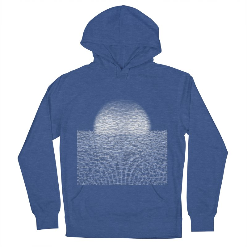 Cyber Ocean Women's Pullover Hoody by LEMATWORKS Shop