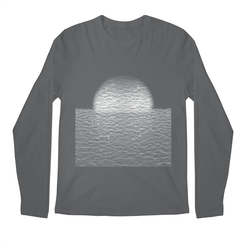 Cyber Ocean Men's Longsleeve T-Shirt by LEMATWORKS Shop