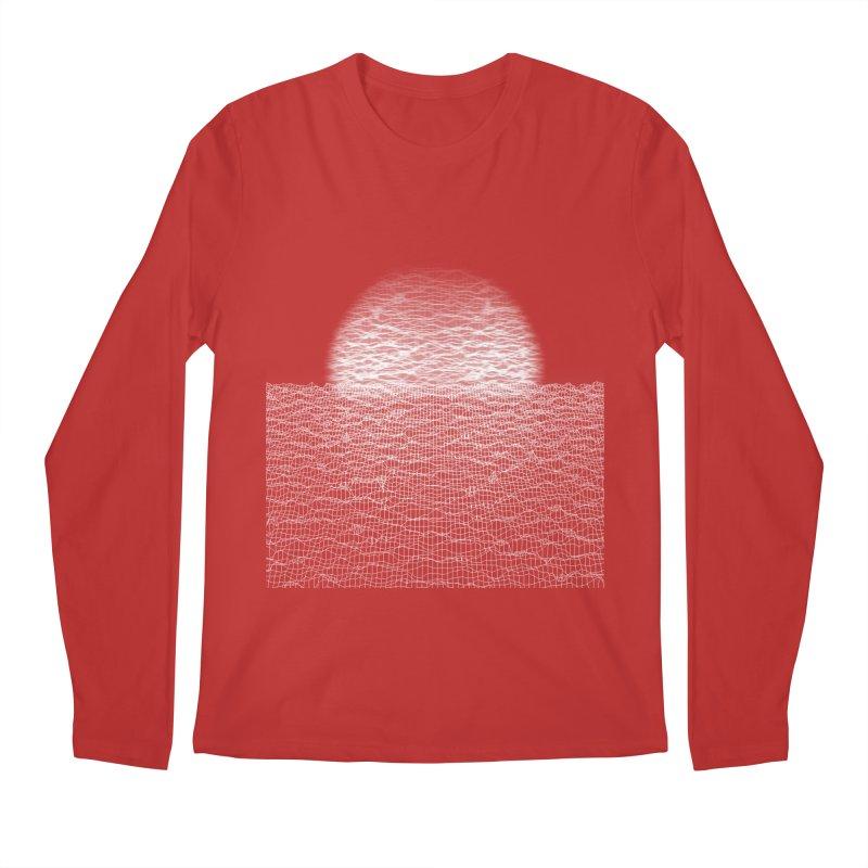 Cyber Ocean Men's Regular Longsleeve T-Shirt by LEMATWORKS Shop