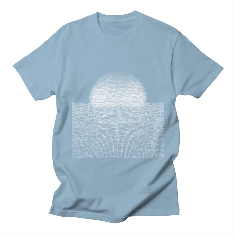 Cyber Ocean Men's Regular T-Shirt by LEMATWORKS Shop