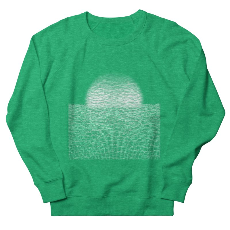 Cyber Ocean Women's Sweatshirt by LEMATWORKS Shop