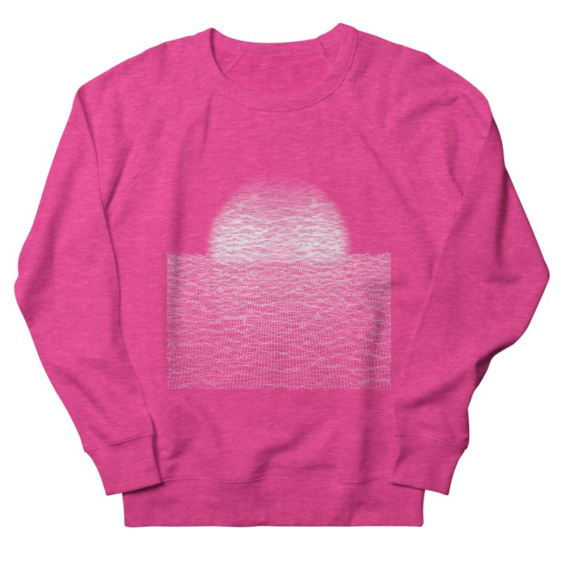 Cyber Ocean Women's French Terry Sweatshirt by LEMATWORKS Shop