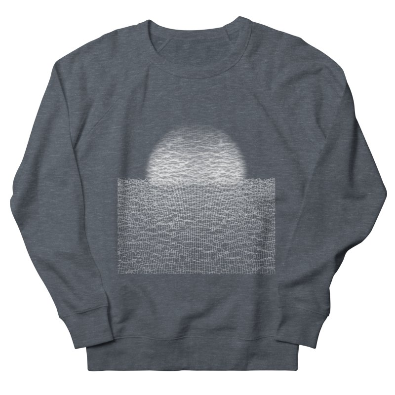 Cyber Ocean Men's Sweatshirt by LEMATWORKS Shop