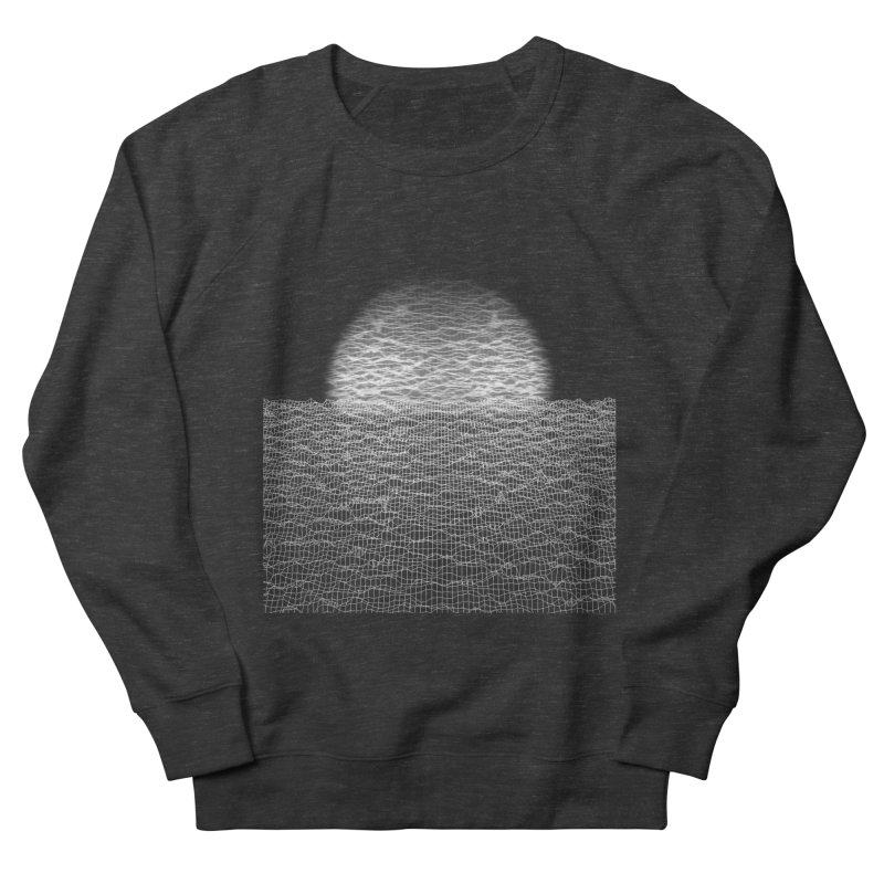 Cyber Ocean Men's French Terry Sweatshirt by LEMATWORKS Shop