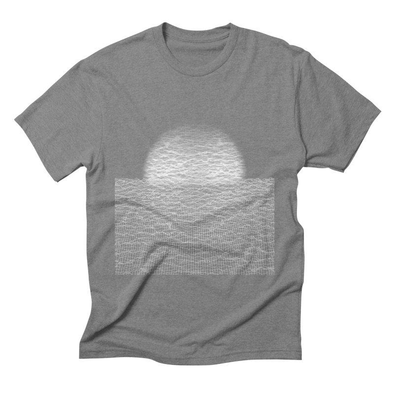 Cyber Ocean Men's Triblend T-Shirt by LEMATWORKS Shop