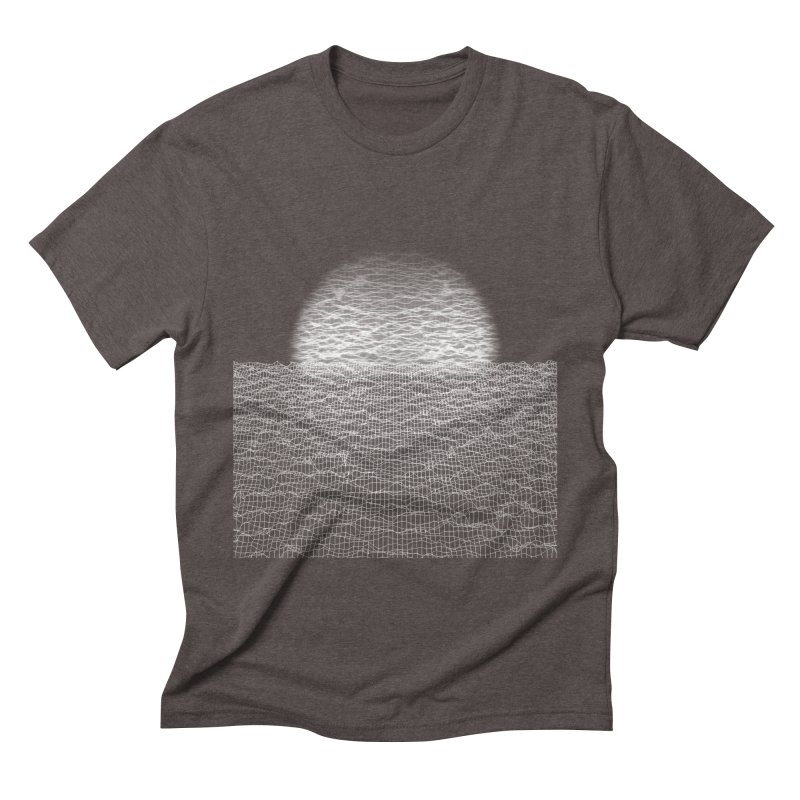 Cyber Ocean Men's Triblend T-shirt by LEMATWORKS Shop