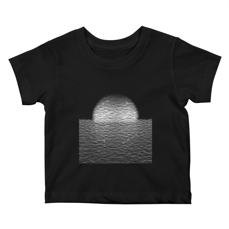 Cyber Ocean Kids Baby T-Shirt by LEMATWORKS Shop