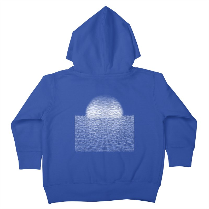 Cyber Ocean Kids Toddler Zip-Up Hoody by LEMATWORKS Shop