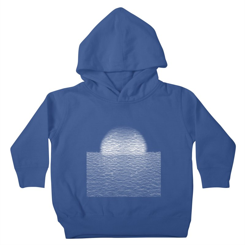 Cyber Ocean Kids Toddler Pullover Hoody by LEMATWORKS Shop