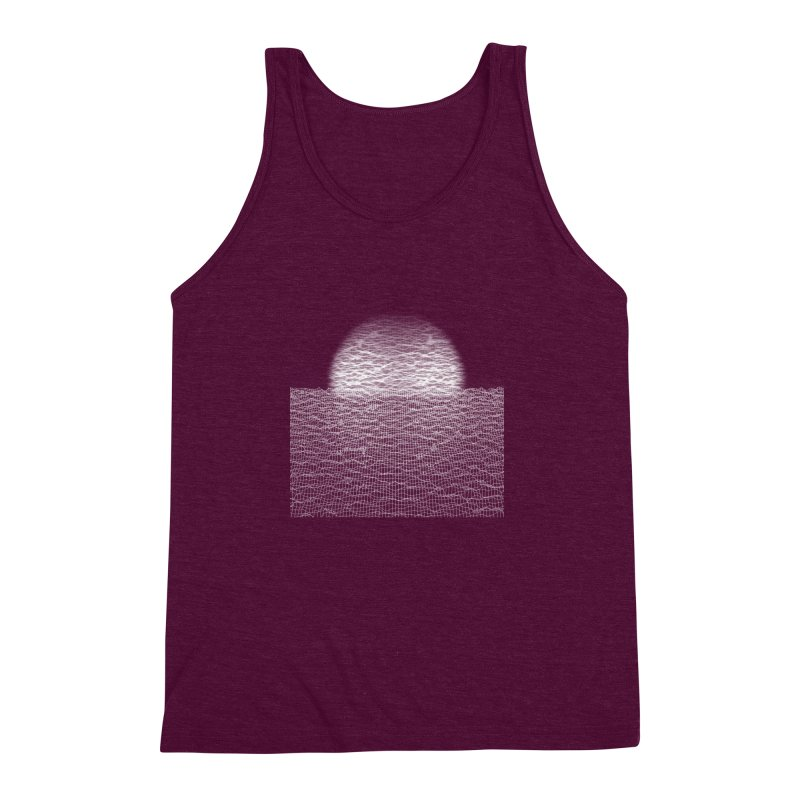 Cyber Ocean Men's Triblend Tank by LEMATWORKS Shop
