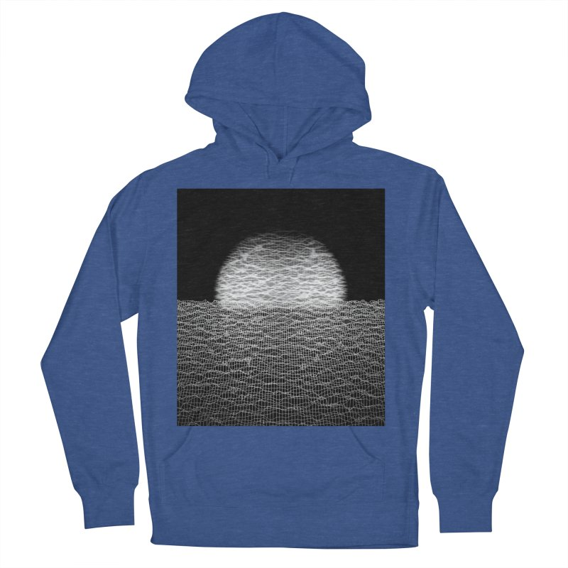 Cyber Ocean 2 -BG Black- Women's French Terry Pullover Hoody by LEMATWORKS Shop