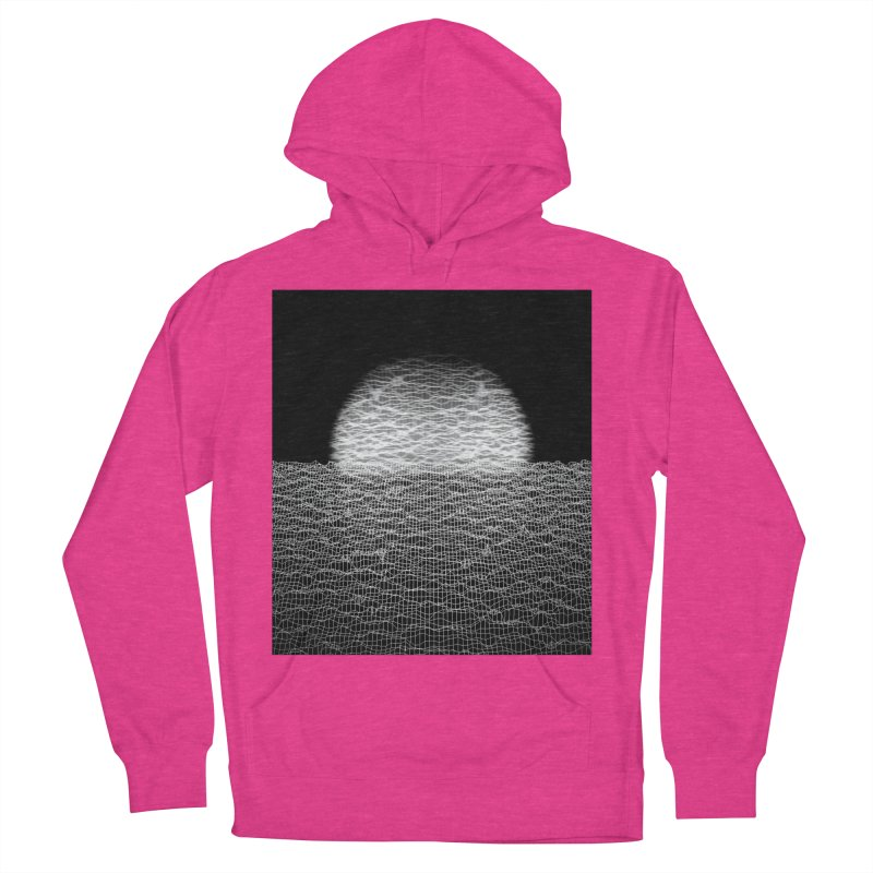 Cyber Ocean 2 -BG Black- Women's Pullover Hoody by LEMATWORKS Shop