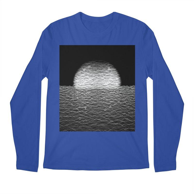 Cyber Ocean 2 -BG Black- Men's Regular Longsleeve T-Shirt by LEMATWORKS Shop