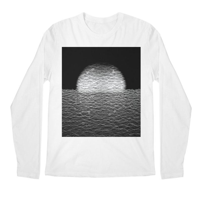 Cyber Ocean 2 -BG Black- Men's Longsleeve T-Shirt by LEMATWORKS Shop