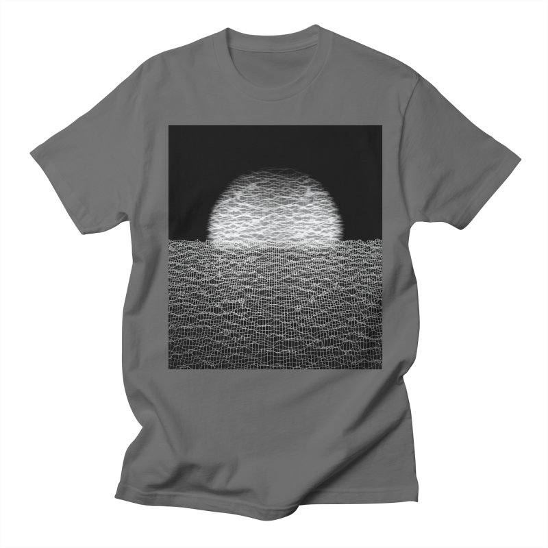 Cyber Ocean 2 -BG Black- Men's T-Shirt by LEMATWORKS Shop