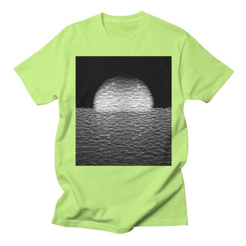 Cyber Ocean 2 -BG Black- Men's T-Shirt by LEMATWORKS Shop