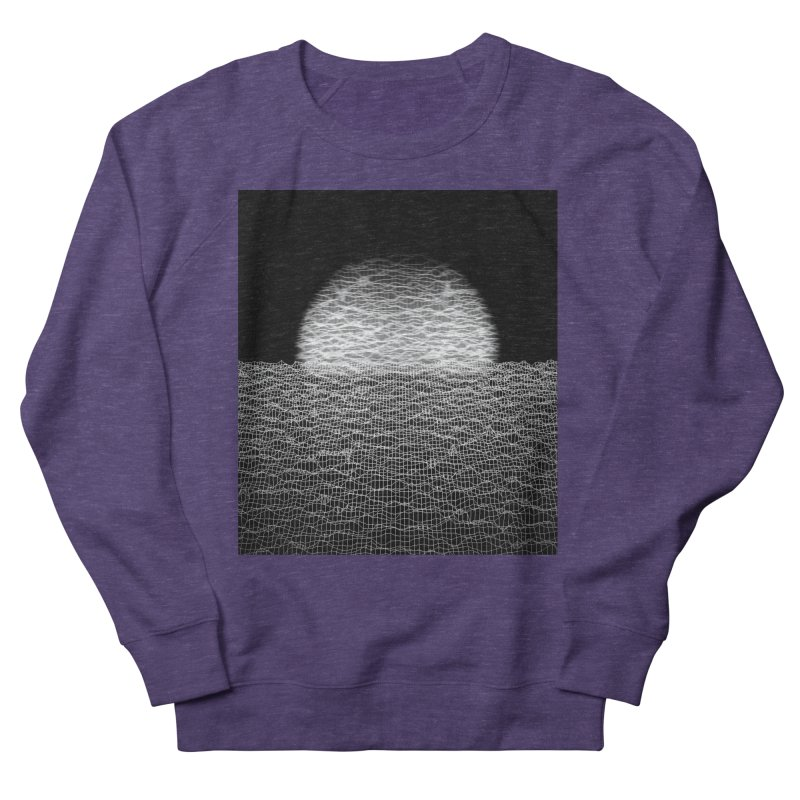 Cyber Ocean 2 -BG Black- Women's French Terry Sweatshirt by LEMATWORKS Shop