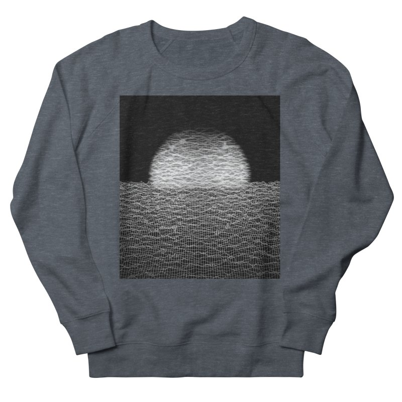 Cyber Ocean 2 -BG Black- Women's French Terry Sweatshirt by LEMATWORKS Shop
