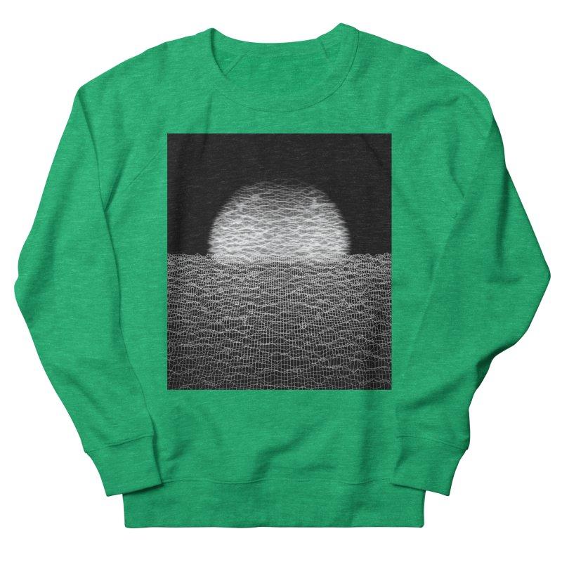 Cyber Ocean 2 -BG Black- Men's Sweatshirt by LEMATWORKS Shop