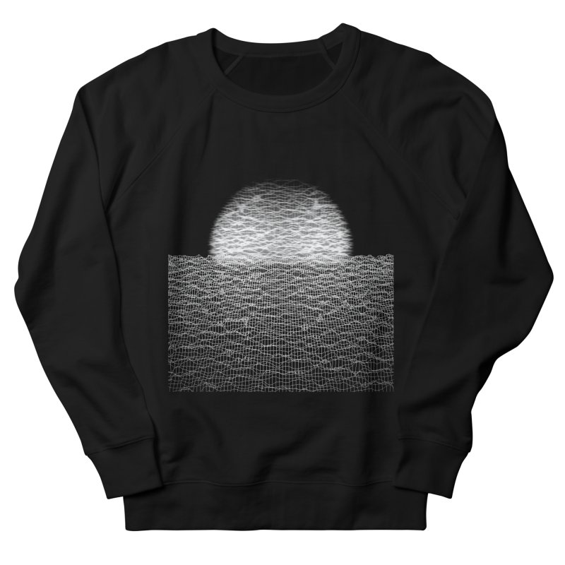 Cyber Ocean 2 -BG Black- Men's French Terry Sweatshirt by LEMATWORKS Shop