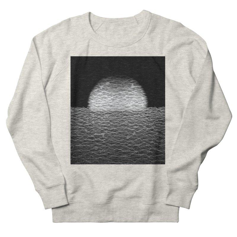 Cyber Ocean 2 -BG Black- Men's French Terry Sweatshirt by LEMATWORKS Shop