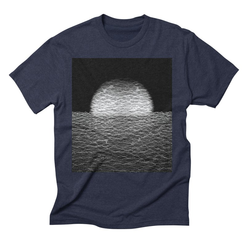 Cyber Ocean 2 -BG Black- Men's Triblend T-Shirt by LEMATWORKS Shop